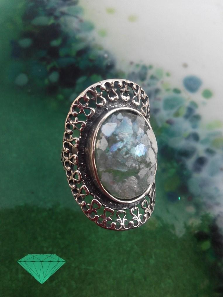 anel vidro romano High Quality Unique Handmade Jewellery Opalina Atelier Lagos Algarve Portugal